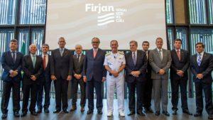 Read more about the article Firjan entrega à Alerj programa para retomada do crescimento e o Cluster Tecnológico Naval do Rio de Janeiro foi citado