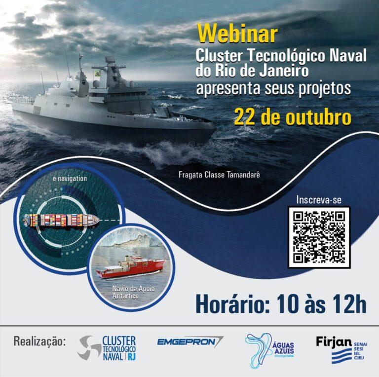 Cluster Tecnológico Naval do Rio de Janeiro apresenta seus projetos