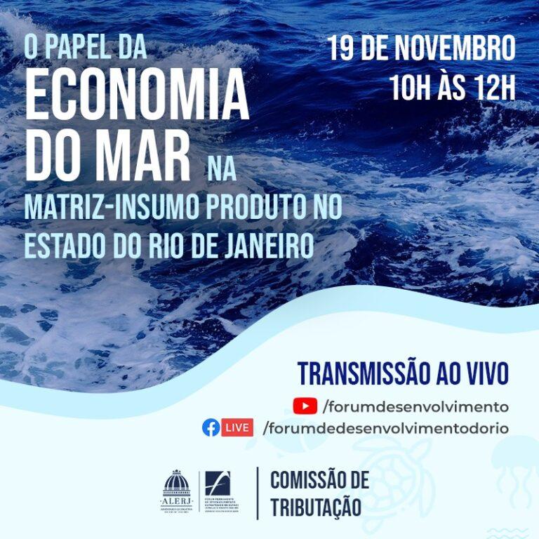O Papel da Economia do Mar na Matriz-Insumo Produto no Estado do Rio de Janeiro