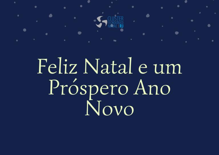 CTN-RJ deseja Boas Festas!