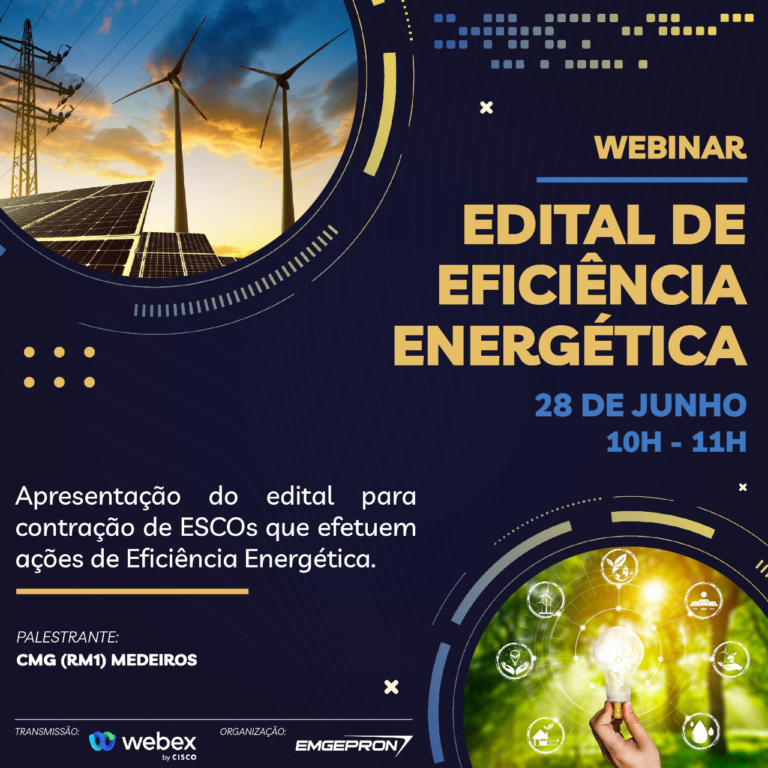 """Webinar """"Edital de Eficiência Energética"""""""