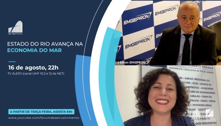 Read more about the article Evento: Estado do Rio Avança na Economia do Mar