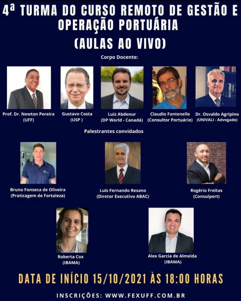 Read more about the article Curso de Gestão e Operação Portuária