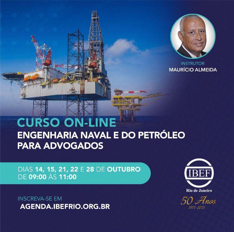 Read more about the article Curso de Engenharia Naval e do Petróleo para Advogados
